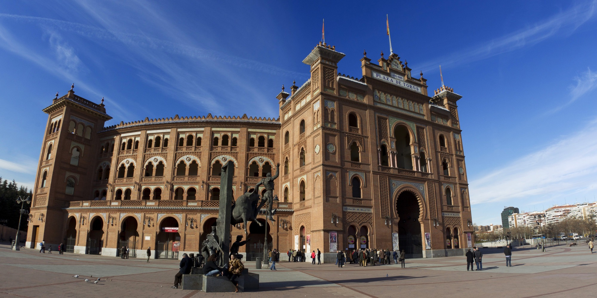 Madrid, Spain. Plaza de toros de Las Ventas.
