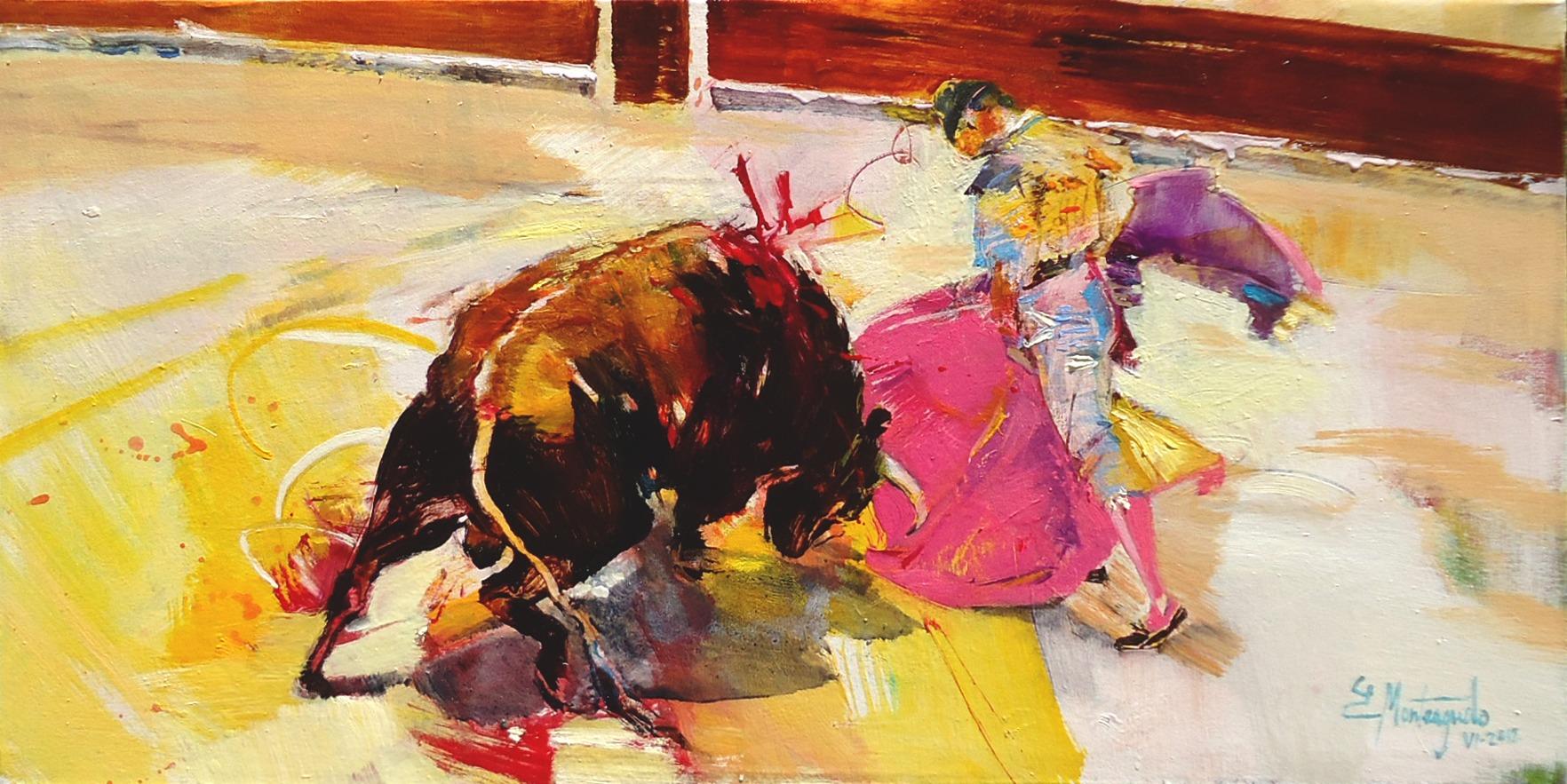tauromaquia-80x40-cm-oil-on-canvas